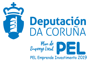 Deputación da Coruña. PEL Emprende Investimento 2019